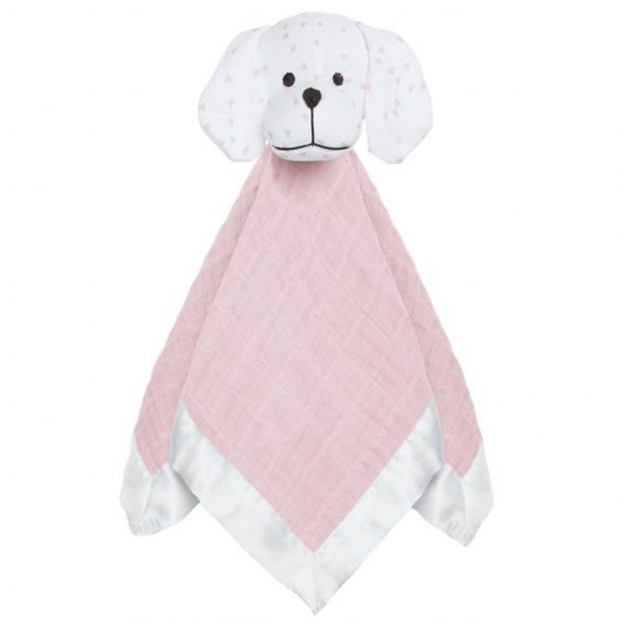 Security Blanket – Pink Puppy
