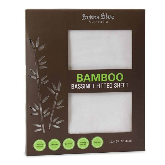 Bamboo Jersey Bassinet Fitted Sheet