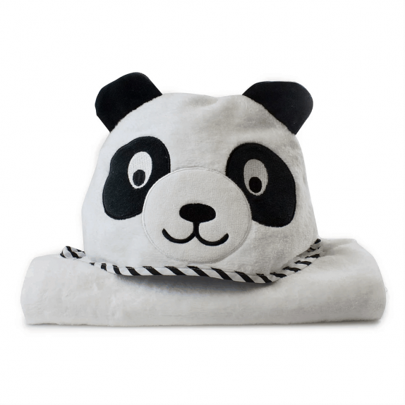 Panda Novelty Hooded Bath Towel