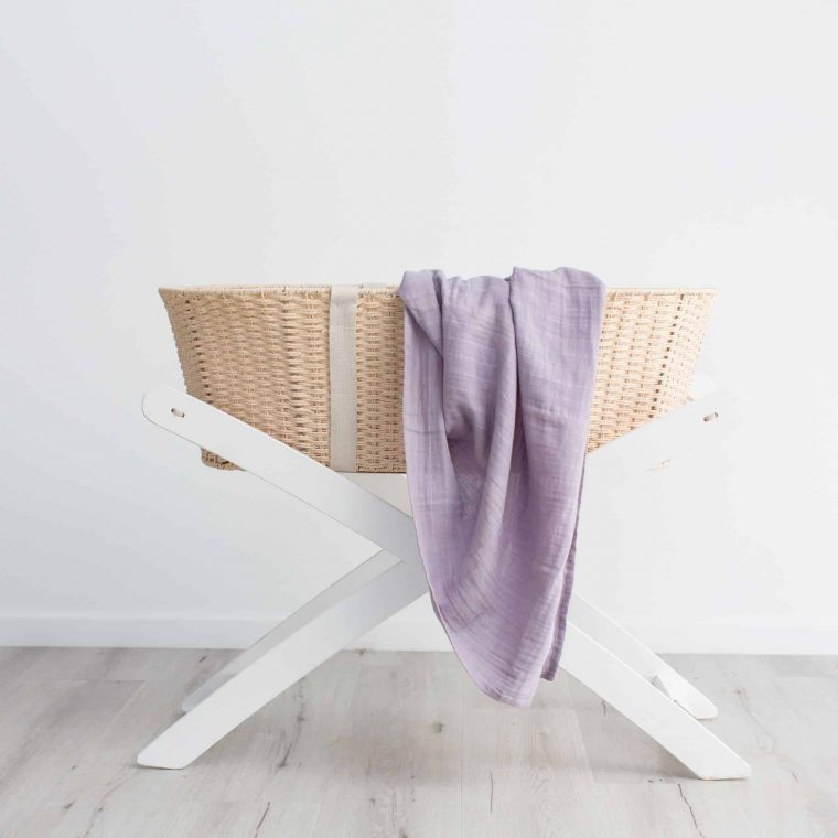 Lilac_organic_cotton_swaddle_muslin_wrap