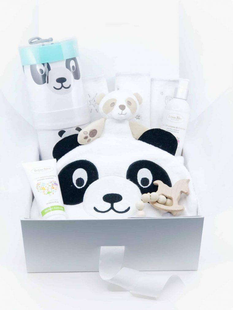 New Baby & Baby Shower Box - Panda unpac