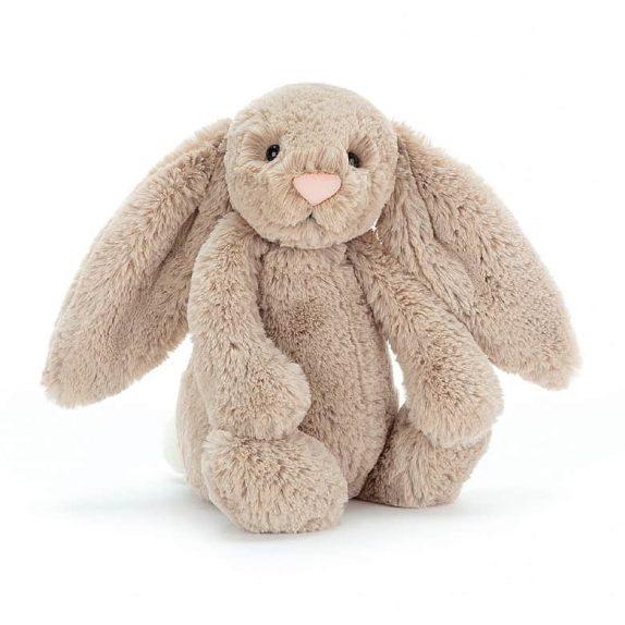 JellyCat Bunny  –  Bashful Beige (Medium)