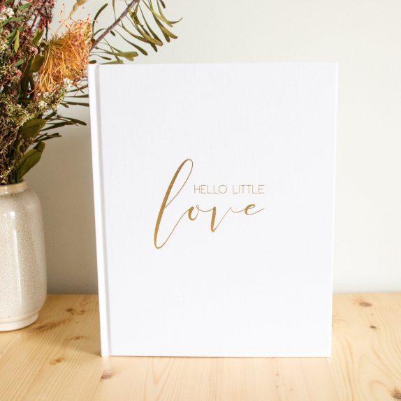 Hello Little Love – Baby Journal