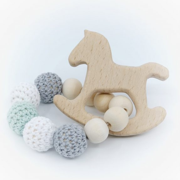 Baby Teether – Rocking Horse
