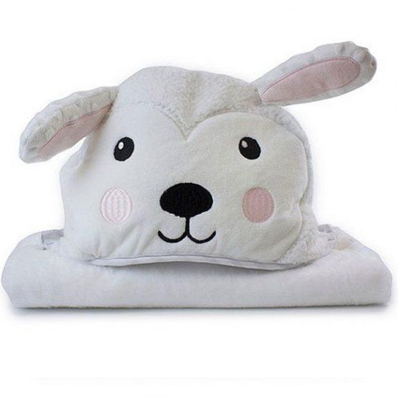 Sheep Novelty Hooded Bath Towel