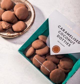 Caramelised Coconut Dotties 200g