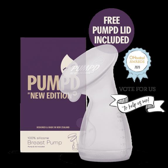 Pumpd Silicone Breast Pump